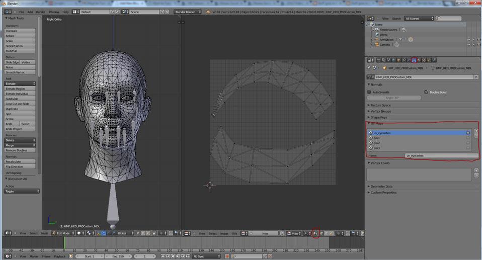 Must Be Tuesday 187 Fix Mass Effect Headmesh Uv Mapping