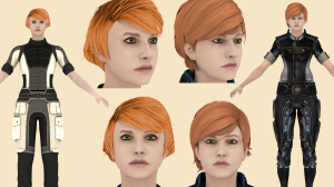 Yeoman Kelly Chambers (ME2 & ME3 versions)
